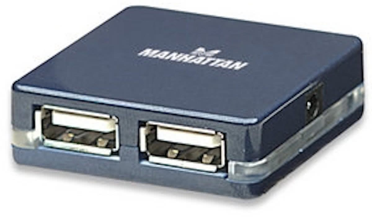 Adapter   Micro USB 2.0 MANHATTAN (4P) [bu]